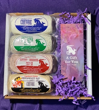 Caprikorn Farms Goat Cheese Gift Box