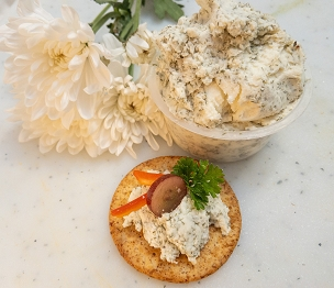 Dill and Garlic Chevre