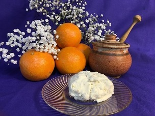 Orange Blossom Honey Chevre